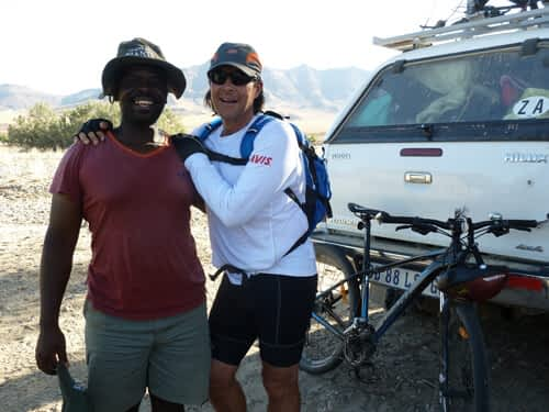 Tracks of Giants: The long haul across Namibia