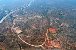 Mining, aerial