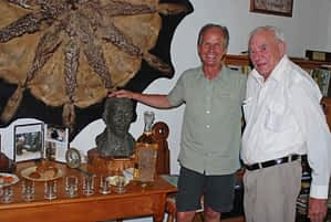 Vance Martin with Ian Player