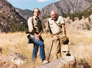 Vance Martin & Ian Player, Idaho 1987
