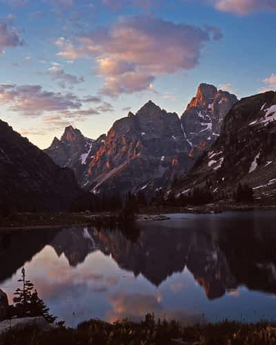 Lake Solitude, Grand Teton National Park, Wyoming. Photo: Boyd Norton