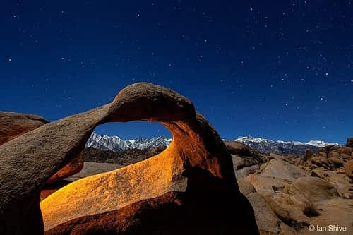 Arches at Night  © Ian Shive