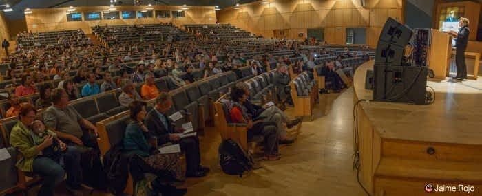 Sylvia Earle presenting at WILD10