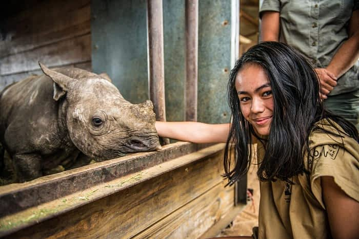 Forever Wild Rhino Protection Initiative's Demand Reduction Campaign