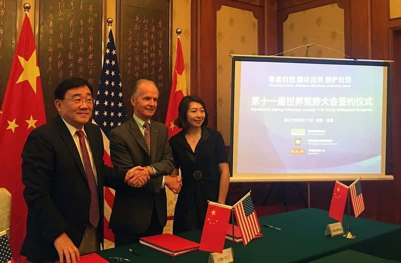 China Media Signing