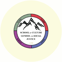 University of Wyoming: School of Culture Gender and Social Justice Logo