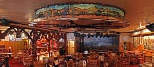 Million Dollar Cowboy Bar Western Buckrail - Jackson Hole, news