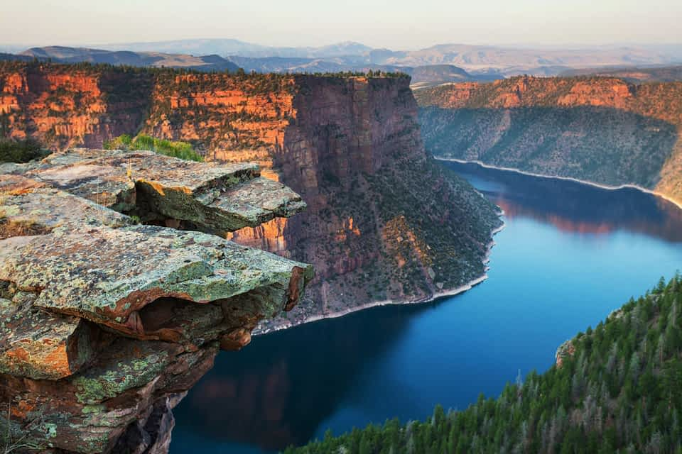 Scenic Drives near Flaming Gorge NRA, Wyoming