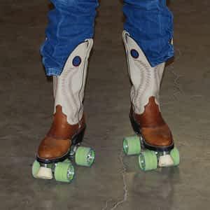 Roller skates Cowboy boot Buckrail - Jackson Hole, news