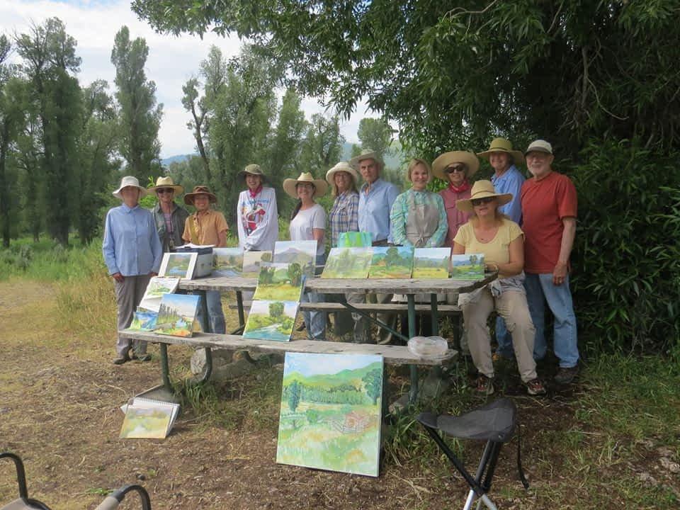 Jackson Painters Outdoor Buckrail - Jackson Hole, news