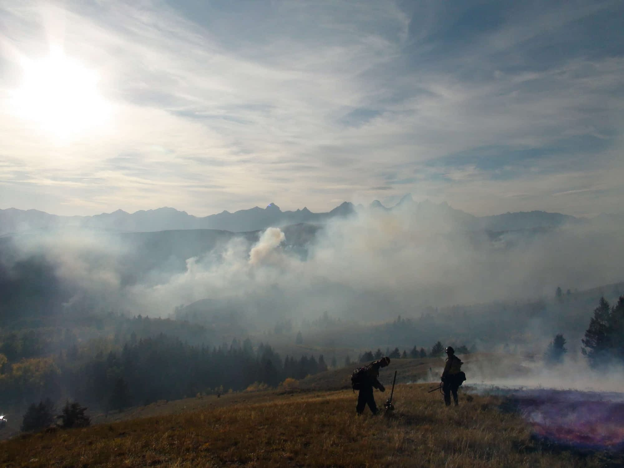 Prescribed burn scheduled at four locations in Jackson Hole