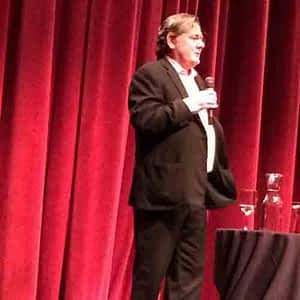 Charlie Trotter Speaking at JH Culinary Conference Jackson Wyoming Photo: Richard Ofstein MD