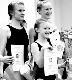 Sublette County's young athletes. Winning smiles and certificates. Photo: WIND RIVER YOGA