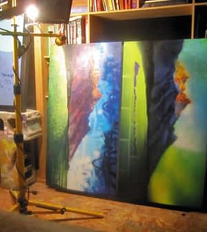 Mike Tierney's studio at Igneous