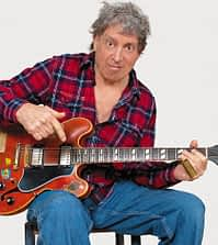 Elvin Bishop (left), founding member of Paul Butterfield Blues, plays the Center Sunday