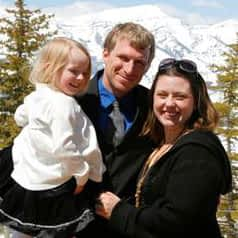 Nick Izard and his family